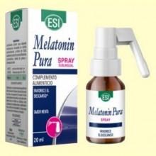 Melatonin Pura Spray Sublingual 1 mg - Melatonina - 20 ml - Laboratorios Esi