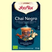 Chai Negro - 17 sobres - Yogi Tea