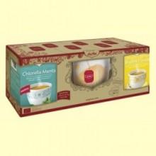 Pack Edicion Limitada Chlorella Menta + Jengibre y Limón + Taza - 1 Pack - Yogi Tea