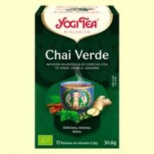 Chai Verde Bio - 17 infusiones - Yogi Tea
