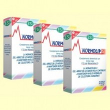Normolip 5 - Colesterol - Pack 3 x 30 cápsulas - Laboratorios ESI