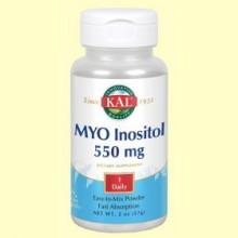 MYO Inositol 550 mg - 57 gramos - Kal