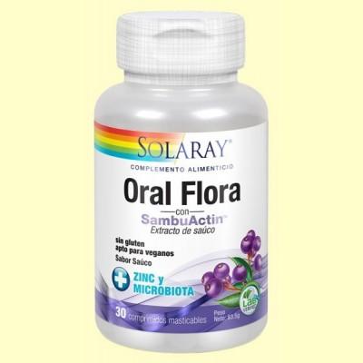 Sambuactin Oral Flora - 30 comprimidos -  Solaray