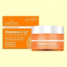 Crema Diaria Vitamina C 50+ - 50 ml - Natysal