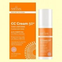CC Cream Vitamina C 50+ - 20 ml - Natysal