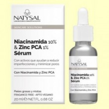 Niacinamida 10% y Zinc Pca 1% Sérum - 20 ml - Natysal