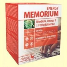 Memorium Energy - 60 cápsulas - DietMed