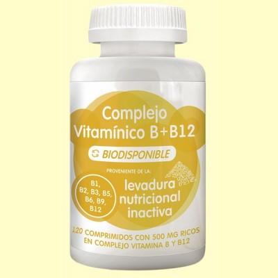 Complejo Vitamínico B y B12 - 120 comprimidos - Energy Feelings
