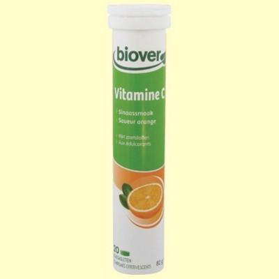 Vitamina C - Bhealty - 20 comprimidos efervescentes - Biover