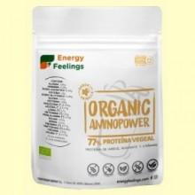 Organic Aminopower Eco 77% Sabor Vainilla - 200 gramos - Energy Feelings