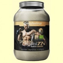 Organic Proteína Vegetal Vainilla Eco 77% - 1500 gramos - Energy Feelings