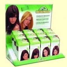 Tinte capilar coloracion permanente - Color castaño claro - Corpore Sano - 140 ml