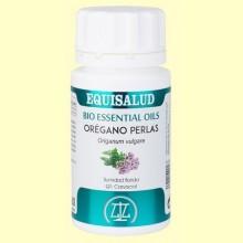 Bio Essential Oils Orégano - 60 perlas - Equisalud