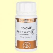 Holovit PureWay C - Vitamina C - 50 cápsulas - Equisalud