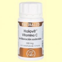 Holovit Vitamina C de Liberación Sostenida - 50 comprimidos - Equisalud