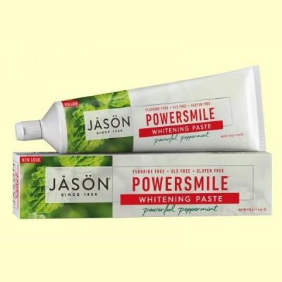Dentífrico blanqueante natural Power Smile - 170 gramos - Jason