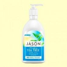 Jabón Facial y de Manos Árbol del Té - 473 ml - Jason