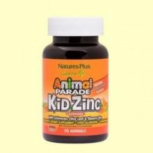 Animal Parade Kid Zinc - 90 comprimidos - Natures Plus