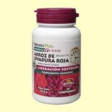 Levadura Roja de Arroz - Colesterol - 30 comprimidos - Natures Plus