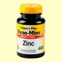Dyno Mins Zinc - Minerales - 60 comprimidos - Natures Plus