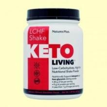 KetoLiving LCHF Batido Chocolate - 675 gramos - Natures Plus
