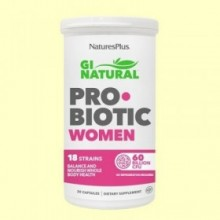 GI Natural Pro Biotic Women - 30 cápsulas - Natures Plus