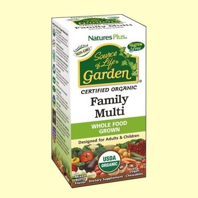 Garden Family Multi - 60 cápsulas - Natures Plus
