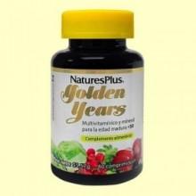 Golden Years - Multivitamínico y Mineral Senior - 60 comprimidos - Natures Plus