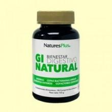 GI Natural - Probióticos - 90 comprimidos - Natures Plus