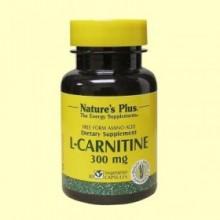 L-Carnitina - 30 cápsulas - Natures Plus