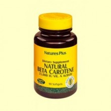Natural Beta Caroteno - 90 comprimidos - Natures Plus
