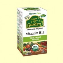 Garden Vitamina B12 - 60 cápsulas - Natures Plus