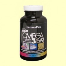 Ultra Omega 3-6-9 - Natures Plus - 90 perlas