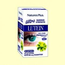 Ultra lutein - Vitaminas para los ojos - 60 perlas - Natures Plus