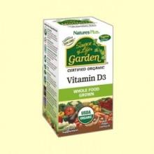 Vitamin D3 Garden - 60 cápsulas - Natures Plus