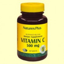 Vitamina C con escaramujo - 90 comprimidos - Natures Plus