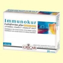 Immunokur - Sistema Inmunológico - 20 comprimidos - Gricar