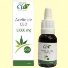 Aceite de CBD 3000 mg 20% - 15 ml - CFN