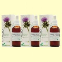 Cardo Mariano Extracto - Pack de 3 x 50 ml - Soria Natural