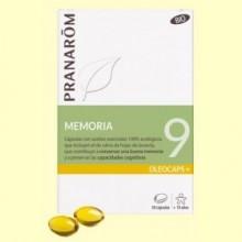 Oléocaps + 9 Memoria Bio - 30 cápsulas - Pranarom