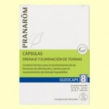 Oléocaps + 8 Depuración - 30 cápsulas - Pranarom