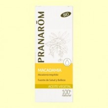 Aceite vegetal Macadamia Bio - 50 ml - Pranarom