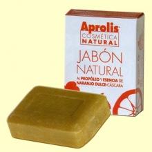 Jabón natural al propóleo - Aprolis Cosmética Biológica - Dietéticos Intersa - 100 gramos