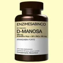 D-Manosa + Arándano Rojo - 60 cápsulas - Enzime Sabinco