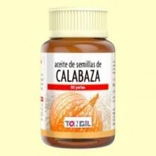 Aceite de semillas de Calabaza - 60 perlas - Tongil