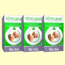 Nivelansi - Estrés y Ansiedad - Pack 3 x 40 cápsulas - Tongil