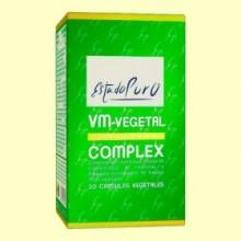 VM-Vegetal Complex - Vitaminas y Minerales Vegetales - Tongil - 30 cápsulas vegetales