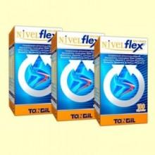 Nivelflex Triple Acción - Pack 3 x 100 cápsulas - Tongil