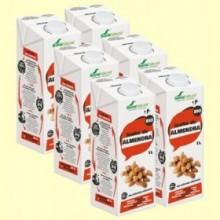 Leche de Almendra Bio - Pack 6 x 1 litro - Soria Natural