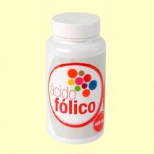 Ácido Folico - 60 cápsulas - Plantis